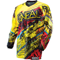 O'Neal Adult Element Jersey - Acid Yellow Size Medium