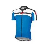 GIORDANA SILVERLINE SHORT SLEEVE JERSEY -BLUE LARGE-