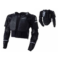 Oneal Underdog 2 Motor Bike Moto Cross Body Armour Black Youth