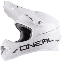 ONEAL 2017 3 SERIES HELMET FLAT WHITE ADULT