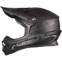 ONEAL 2017 3 SERIES HELMET FLAT BLACK ADULT