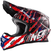 Oneal 2017 3 Series Mercury Helmet Blue/Red/White Youth