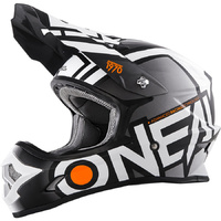 ONEAL 2017 3 SERIES RADIUM HELMET BLACK/WHITE YOUTH/KID