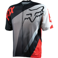 FOX LIVEWIRE DESCENT MTB BIKE JERSEY RED 2015