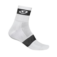 Giro Comp Racer Cycling Sock White/Black