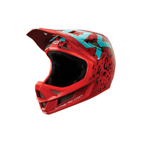 FOX RAMPAGE BIKE HELMET PRO CARBON RED