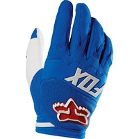 Fox Racing 2016 Mx Gear Dirtpaw Race Blue Bmx Mtb Motocross Dirt Bike Gloves