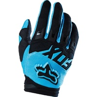 Fox Racing 2016 Mx Dirtpaw Race Aqua Black Bmx Motocross Dirt Bike Gloves