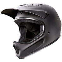 FOX RAMPAGE FULL FACE MTB RACE BIKE HELMET MATTE BLACK