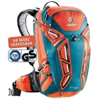 Deuter Attack 20 Papaya-Petrol Back Pack