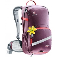 Deuter Bike 18Sl Womens Backpack Aubergine Coral