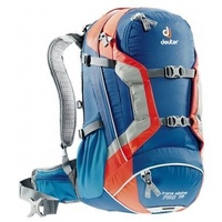 DEUTER TRANS ALPINE PRO 28 STEEL-PAPAYA BACKPACK