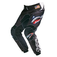 Oneal Mx 2017 Element After Burner Pant Black/Blue Adult Motocross Dirt Bike