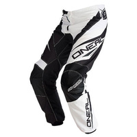 Oneal Mx Gear Element Racewear Adult Motocross Dirt Bike Pants Black/White