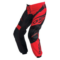 Oneal Mx Gear Element Racewear Adult Motocross Dirt Bike Pants Red