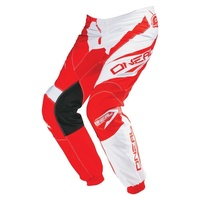 Oneal Mx Gear Element Racewear Adult Motocross Dirt Bike Pants Red/White 2016