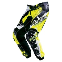 Oneal Mx 2017 Element Shocker Pant Black/Hi-Viz  Adult Motocross Dirt Bike