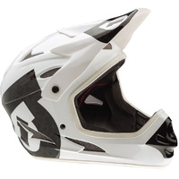 661 SixSixOne COMP FULL FACE MTB BICYCLE HELMET WHITE/BIACK