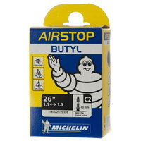 4 X Michelin C2 Airstop Butyl Mtb Tube 26 X 1.1/1.5 P/V 40Mm