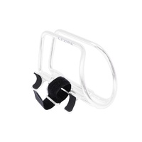 LEZYNE POWER CAGE HV (INCLUDES LEZYNE HV PUMP MOUNT!) - WHITE -