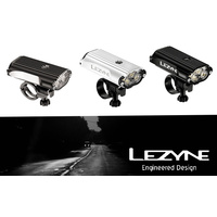 LEZYNE MEGA DRIVE 1400 LUMEN FRONT LIGHT - BLACK -