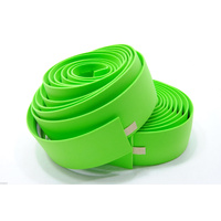 Velo Wrap 'Gel' Lime-Green Cork Handlebar Tape