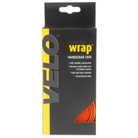 Velo Wrap 'Gel' Orange Cork Handlebar Tape