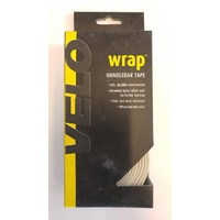 Velo Wrap White Synthetic Handlebar Tape