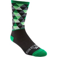 Defeet Aireator Thin Cycling Socks Pro Solitude Green