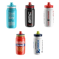 2X Elite Water Bottles Fly Team -Assorted- 550Ml Bpa Free X2 (2 Pieces)