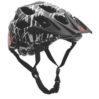 661 SixSixOne RECON WIRED MOUNTAIN BIKE BMX STEALTH HELMET BLACK/RED S/M