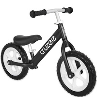 "Am Cruzee Two 12"" Aluminium Balance Kids Bike Black"