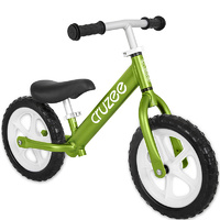"Am Cruzee Two 12"" Aluminium Balance Kids Bike Green"