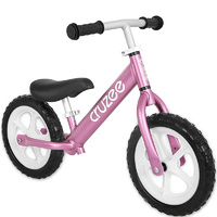 "Am Cruzee Two 12"" Aluminium Balance Kids Bike Pink"