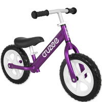 "Am Cruzee Two 12"" Aluminium Balance Kids Bike Purple"