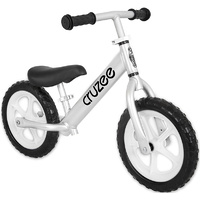Am Cruzee Two 12 Aluminium Balance Kids Bike Silver