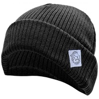 Alpinestars Mx Spruce Winter Snow Headwear Motocross Mens Black Beanie