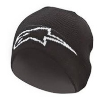 Alpinestars Mx Corp Mens Motocross Winter Headwear FMX Snow Adult Black Beanie
