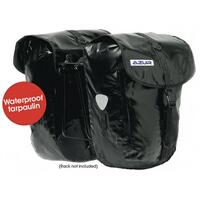 AZUR 100% Waterproof BIKE BICYCLE COMMUTING PANNIER REAR BAG PAIR