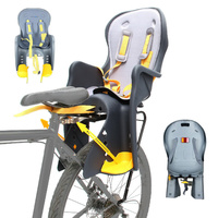 "Velobici Rear Carrier Bike Bicycle Baby Seat Fit all 26"" 700C & Disc"