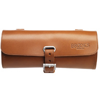 BROOKS CHALLENGE 5L LEATHER SADDLE TOOL BAG HONEY