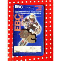 EBC BRAKE PAD SET 'CFA288R' RED DOWNHILL PADS