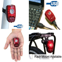 Cygolite HotShot 2W USB Rechargeable Rear Bicycle/Bike Tail Light