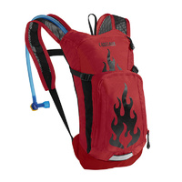 Camelbak Kids' Mini Mule 1.5L Bike Hydration Pack Chili Flames