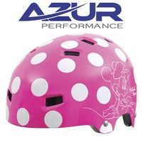 AZUR LICENSED KIDS HELMET MINNIE MOUSE
