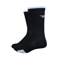"Defeat Cyclismo 5"" Cuff Socks -Black- Medium"