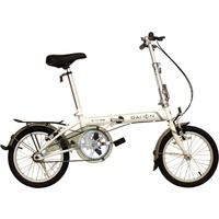 Dahon POP Uno Folding Bike White