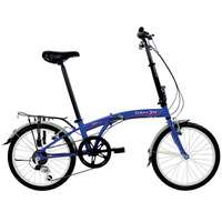 DAHON SUV 6 SPEED FOLDING BIKE BLUE