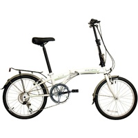 DAHON SUV 6 SPEED FOLDING BIKE WHITE