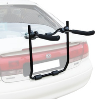 2-Bike Rear Boot Mounted Car Bike Carrier V2 Rack With Straps
